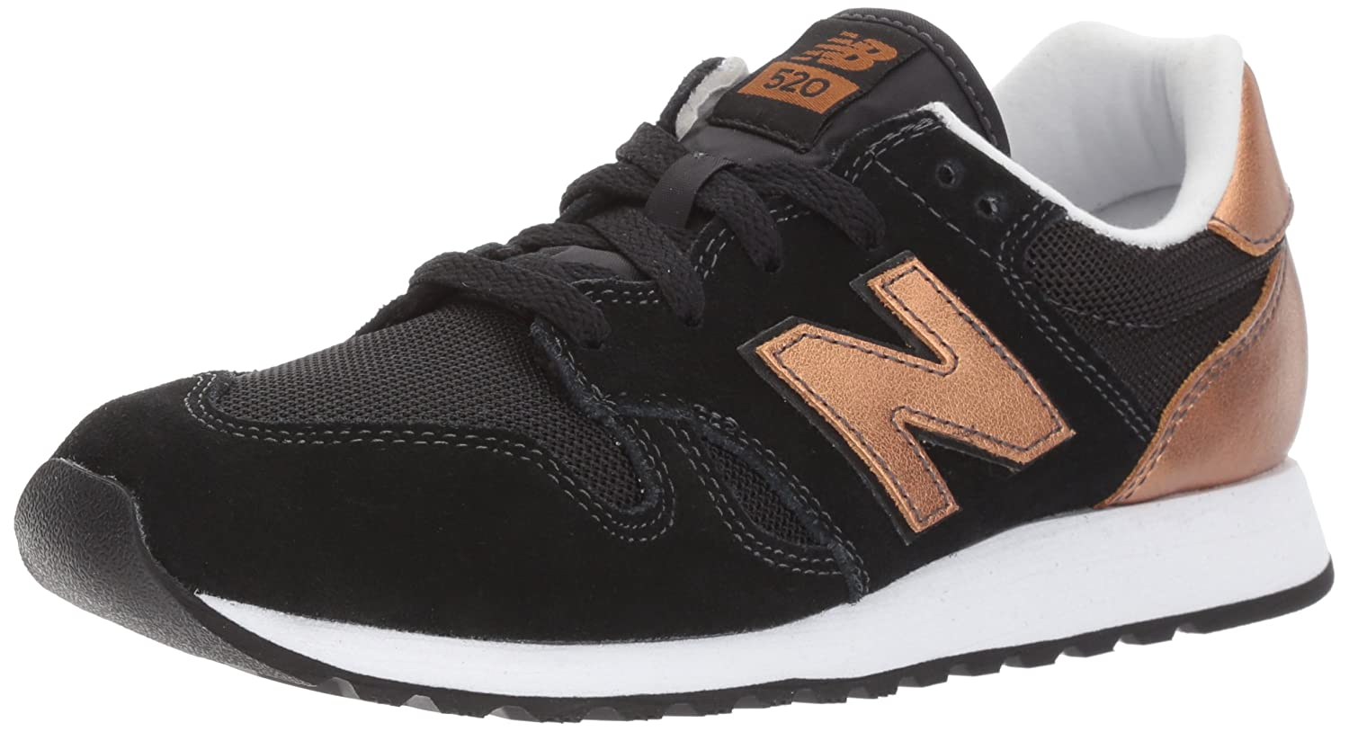 New Balance Women's 520v1 Sneaker B01N77Y6DV 9 B(M) US|Black/Copper