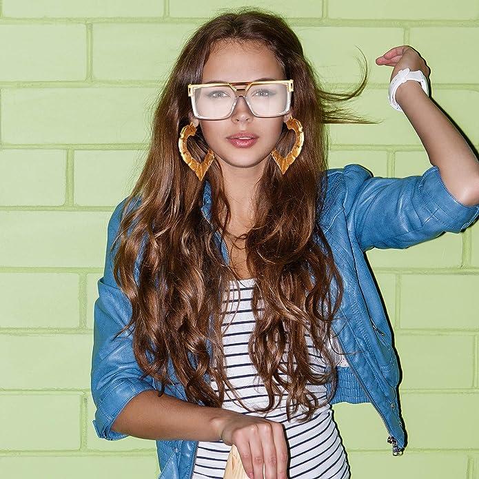 Conjunto de 80s/ 90s Disfraces de Mujeres Hip Hop Gafas de Sol de ...