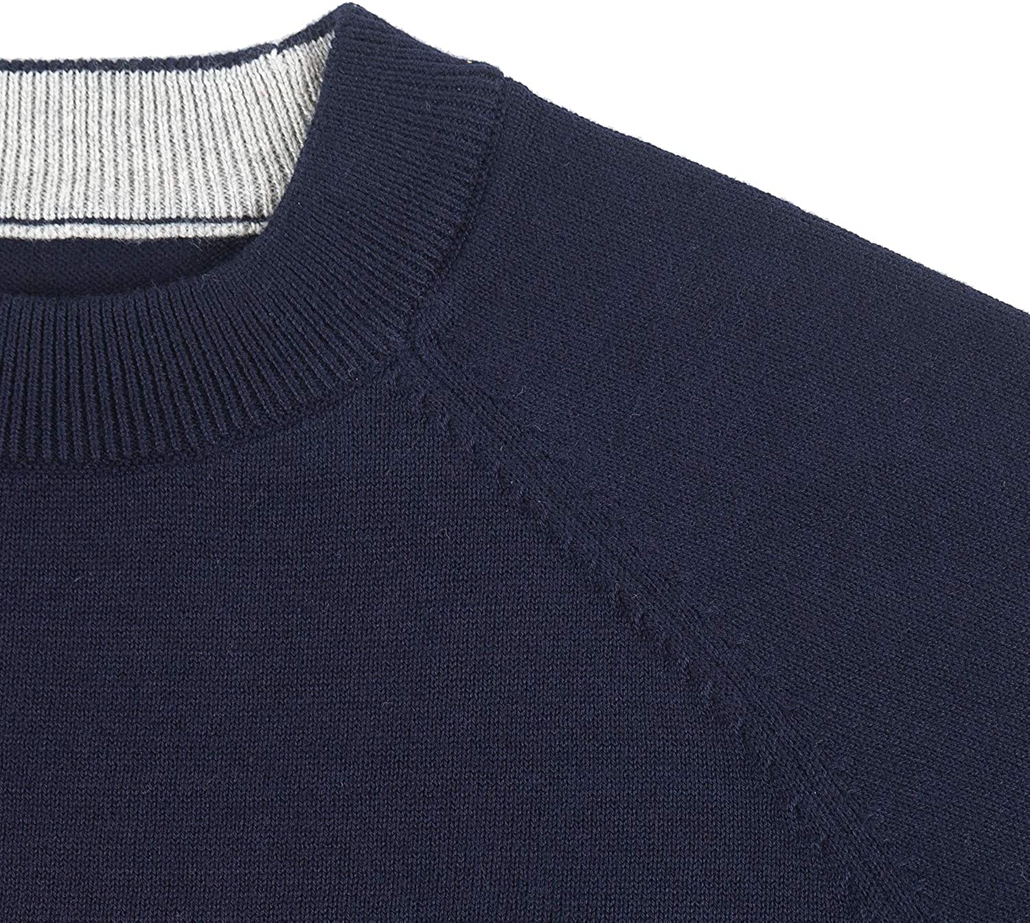 Tops Sweater for Kids Baby Boy Toddler Soft /&Cute Crew Neck Jacquard Knit