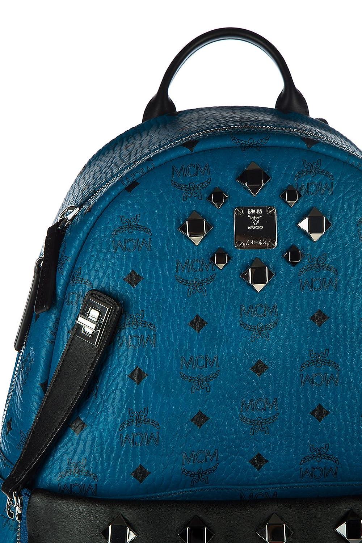 MCM mochila bolso de mujer nuevo dual stark blu: Amazon.es: Zapatos y complementos
