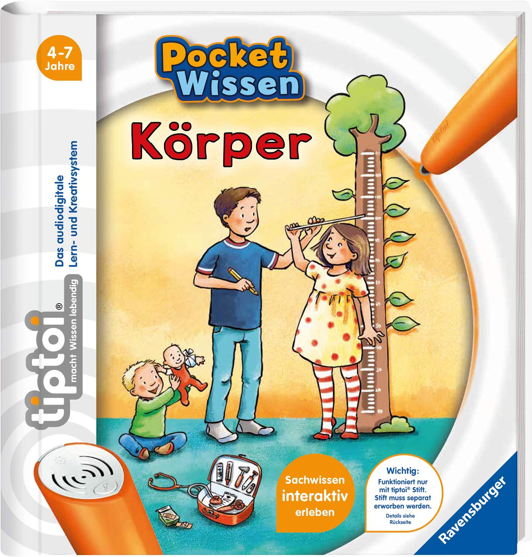 Tierkinder Pocket Wissen RAVENSBURGER tiptoi® Buch NEU