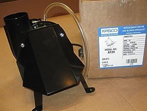 Fasco A139 1-Speed Rheem Draft Inducer Motor, 115V, 3000 RPM, 1/55 hp