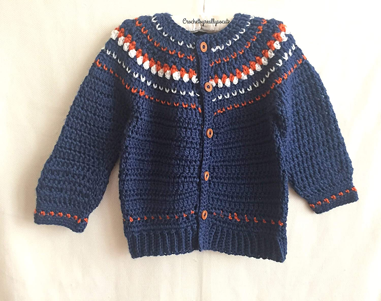 260374017e02 Amazon.com  Baby boy Sweater