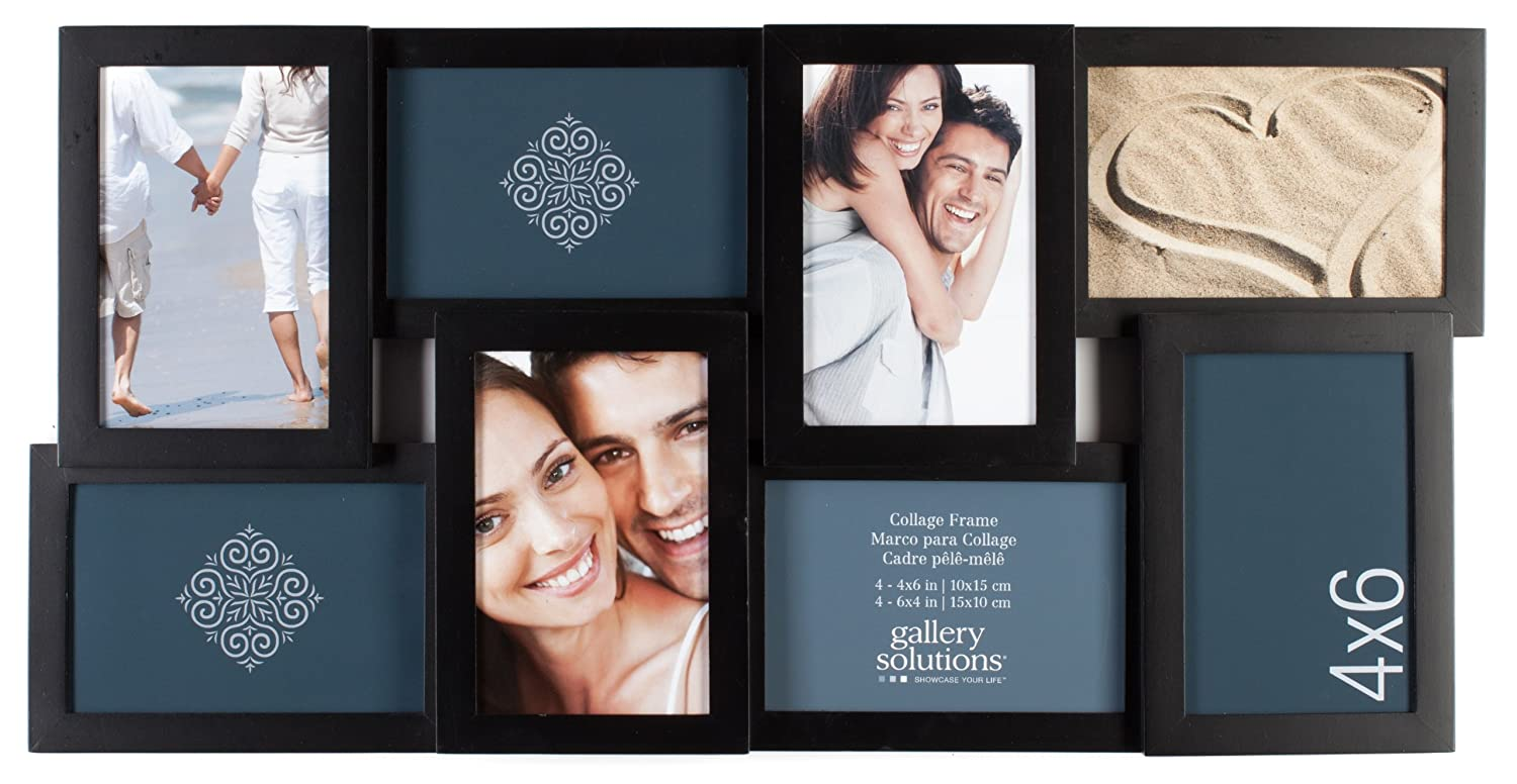 Amazon.com - Pinnacle 8-Opening Gallery Solutions 3D Collage Frame ...