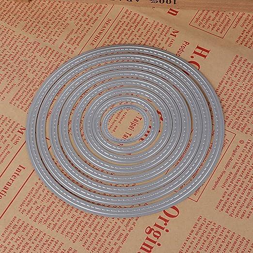 Troqueles de Metal Dies Corte Plantillas Estarcir para Tarjeta, Papel, Álbum Scrapbook, DIY: Amazon.es: Hogar
