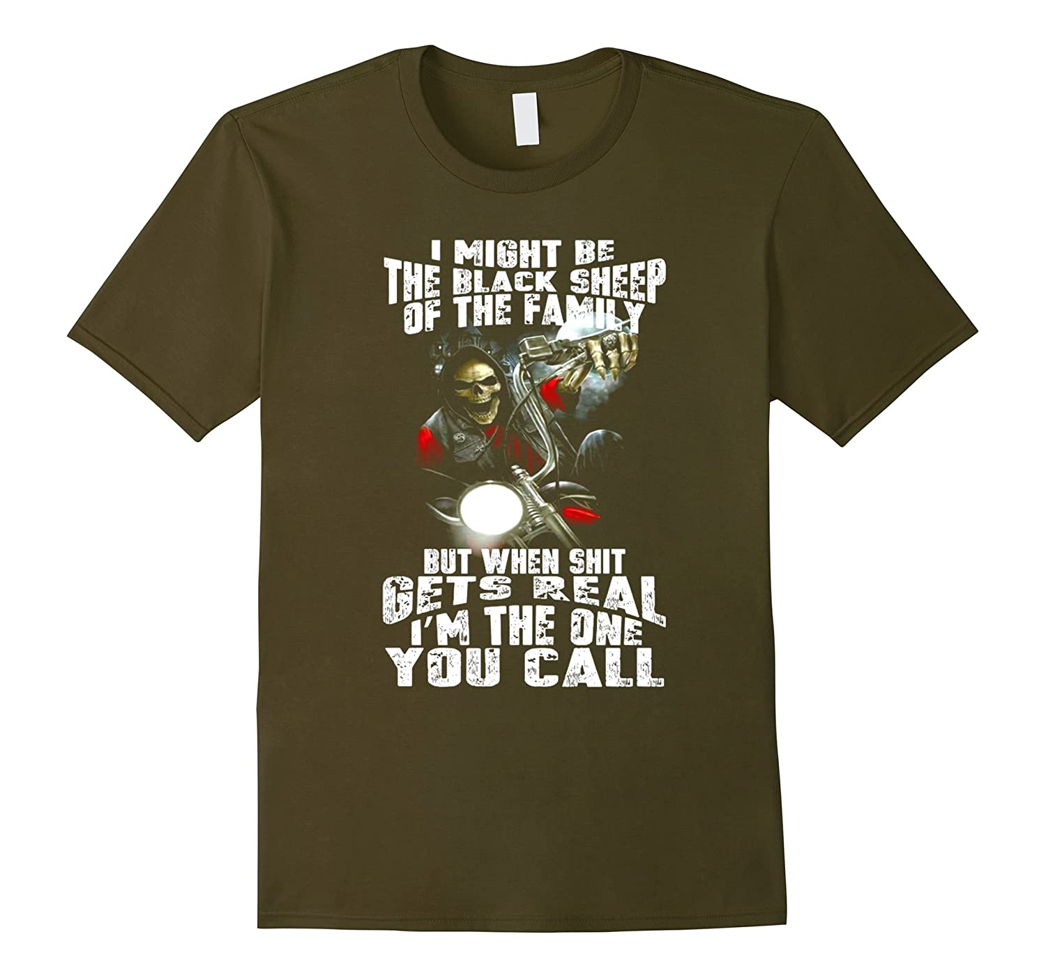 I Might Be The Black Sheep Of The Family T Shirt-RT