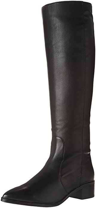 873e104108f Dolce Vita Women s Morey Fashion Boot Black Leather 6 Medium US