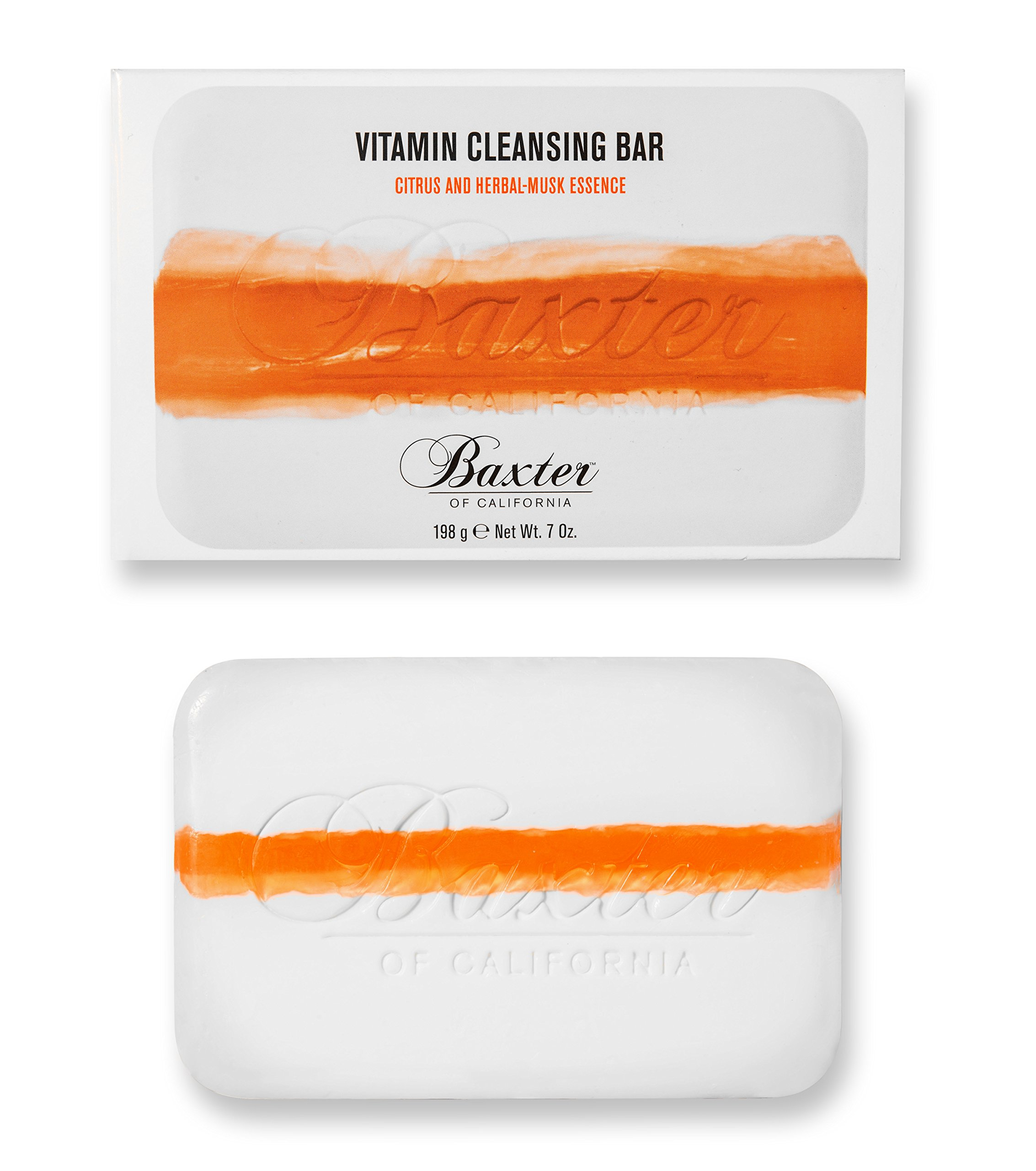 Baxter of California Vitamin Cleansing Bar,7 oz by Baxter of California
