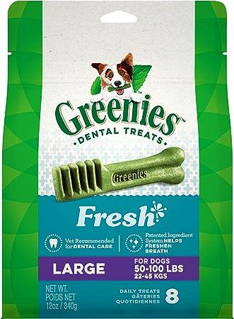 Greenies Fresh Natural Dental Dog Treats