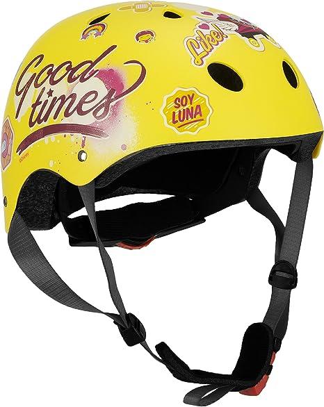 Disney Niños Skate Helmet Soy Luna Sports, Multicolor, Talla 54 ...