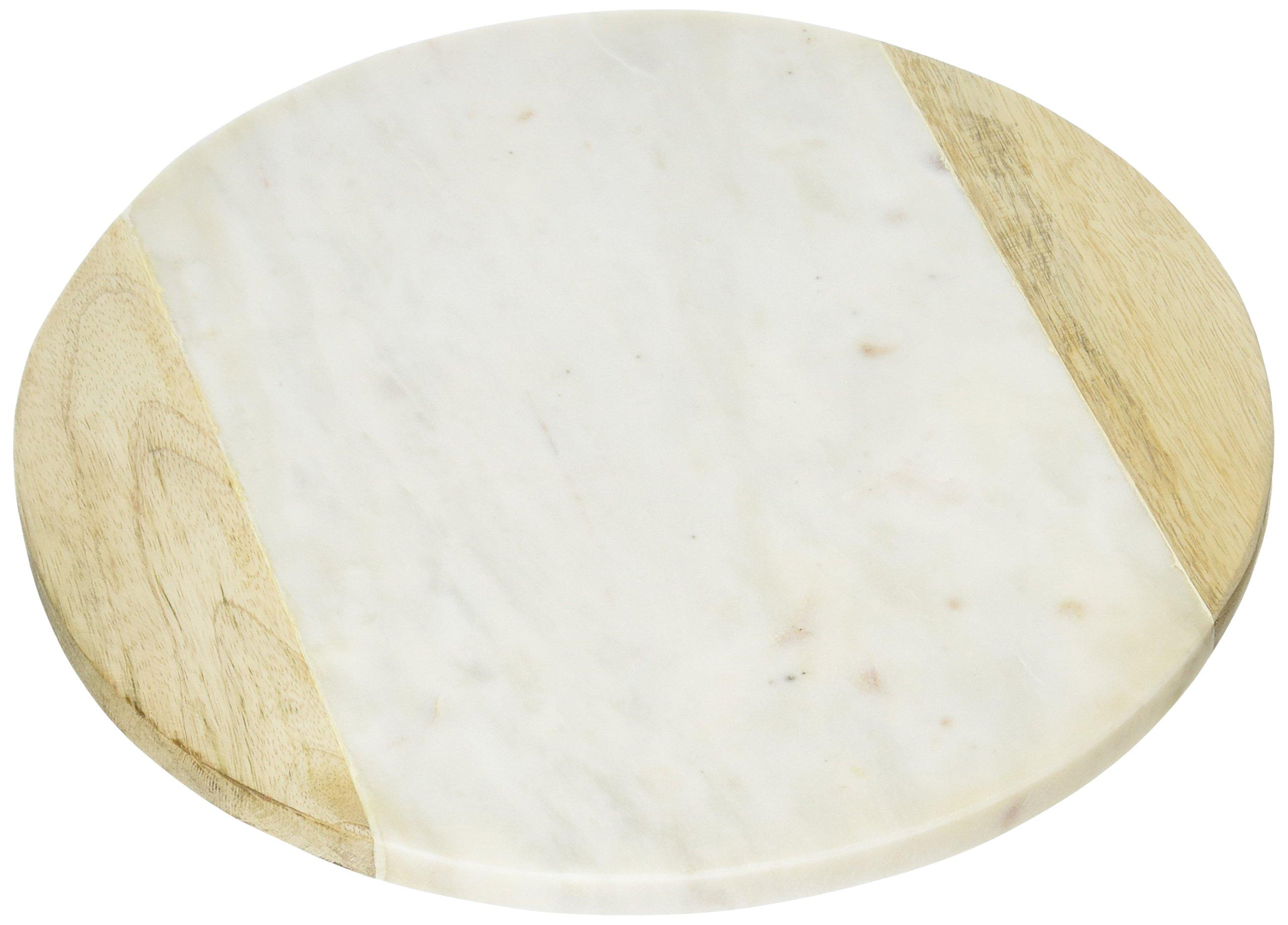 Creative Home Genuine Marble Stone 12'' Round Board