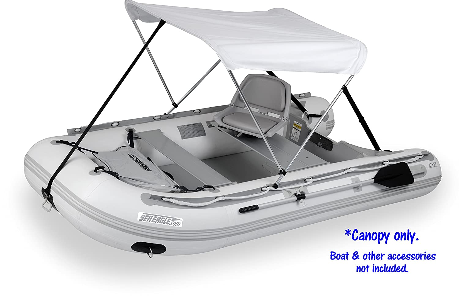 Amazon.com  Sun and Rain Canopy for Inflatable Boats by Sea Eagle Boats  Sports Fan Canopies  Sports u0026 Outdoors  sc 1 st  Amazon.com & Amazon.com : Sun and Rain Canopy for Inflatable Boats by Sea Eagle ...