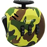 CHUCHIK Fidget Cube Toys. Prime Desk Toy, Reduce Anxiety and Stress Relief for Autism, Add, ADHD & OCD. (Camouflage-Army)