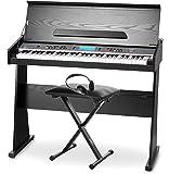 Pianoforte digitale FunKey DP-61, incluso supporto, panchetta e cuffie