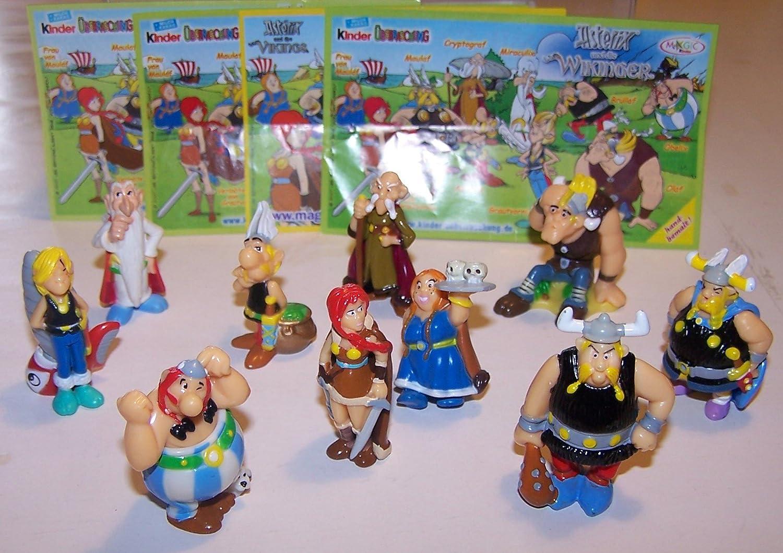 Komplettsätze BPZ ### Ue-Ei Komplettsatz 2007 ### Asterix und die Wikinger