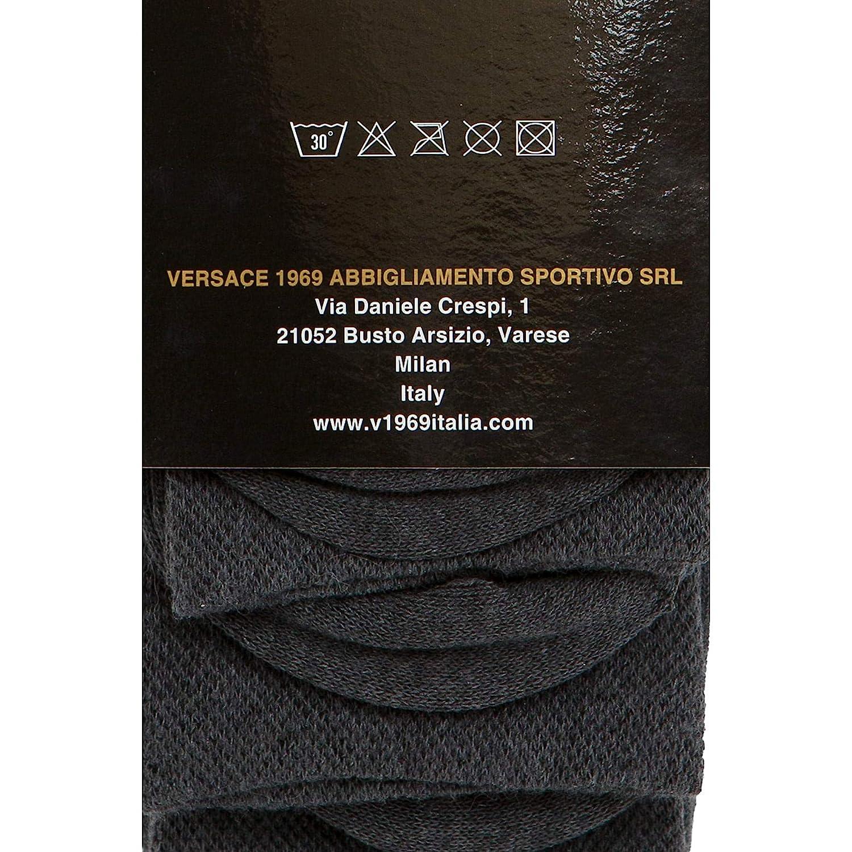 19V69 Calcetines Ejecutivos de Cuadros V57 de Versace 1969 Abbigliamento Sportivo SRL Milano: Amazon.es: Deportes y aire libre