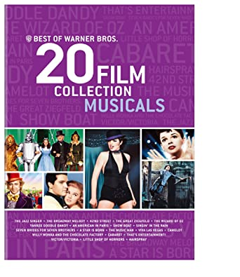 Amazoncom Best Of Warner Bros 20 Film Collection Musicals