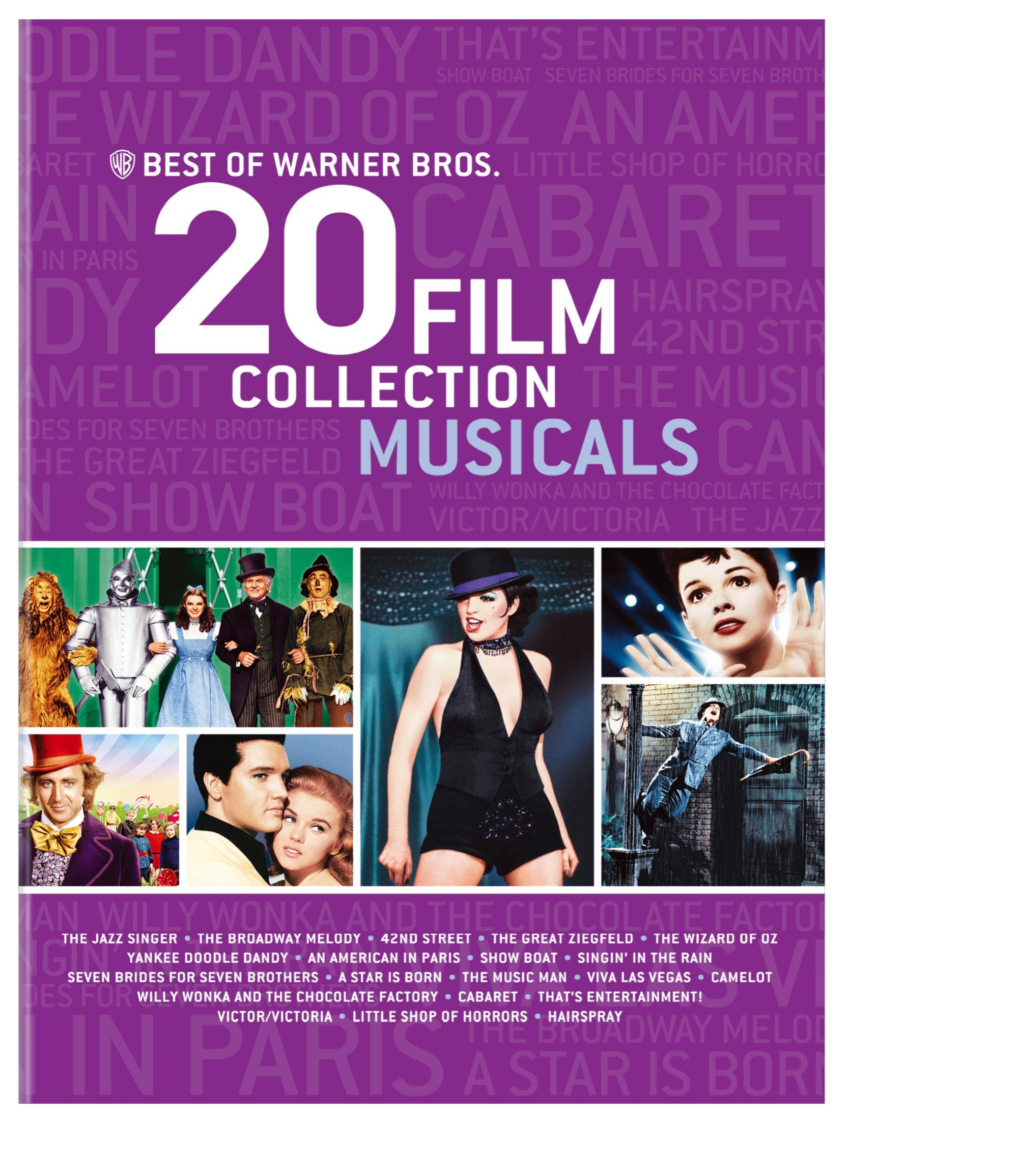 Best of Warner Bros. 20 Film Collection Musicals by Warner Home Video