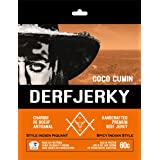 Derf Jerky Coco Cumin Premium Handcrafted Spicy Indian Style Beef Jerky 60g