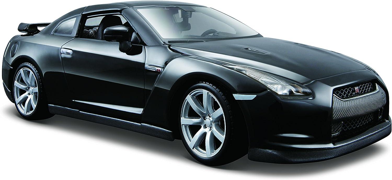 Maisto 31294bk Nissan GT-R 2009 Noir