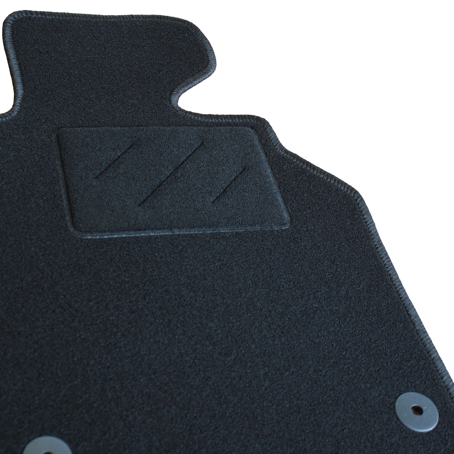 E Class Coupe 2009 On Auto Black Tailored Floor Car Mats Carpet //Rubber