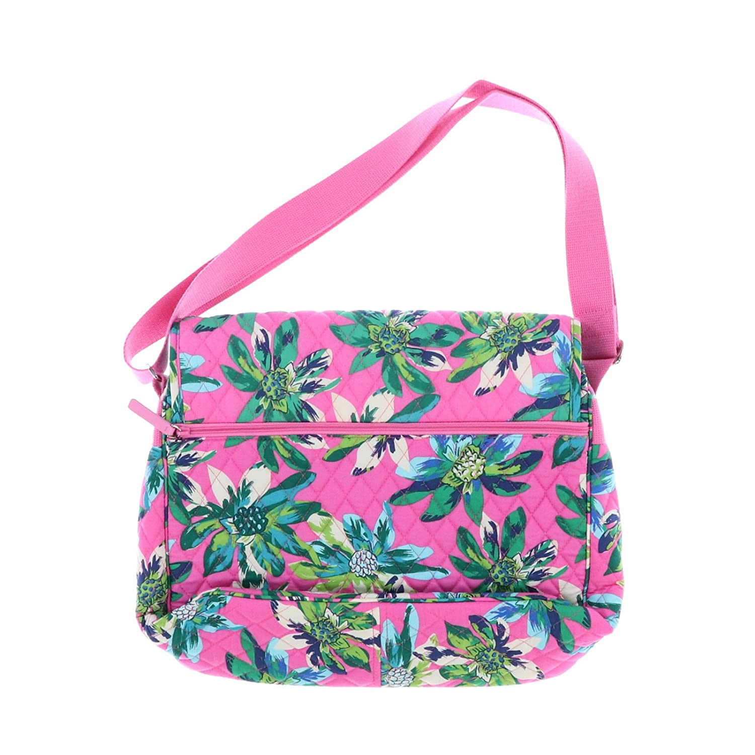 ce3cb85f0fe Amazon.com  Vera Bradley Messenger Bag (Blueberry Blooms)  Computers    Accessories