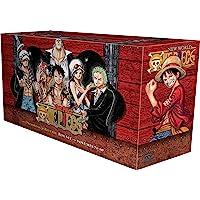 One Piece Box Set 4: Dressrosa to Reverie: Volumes 71-90 with Premium