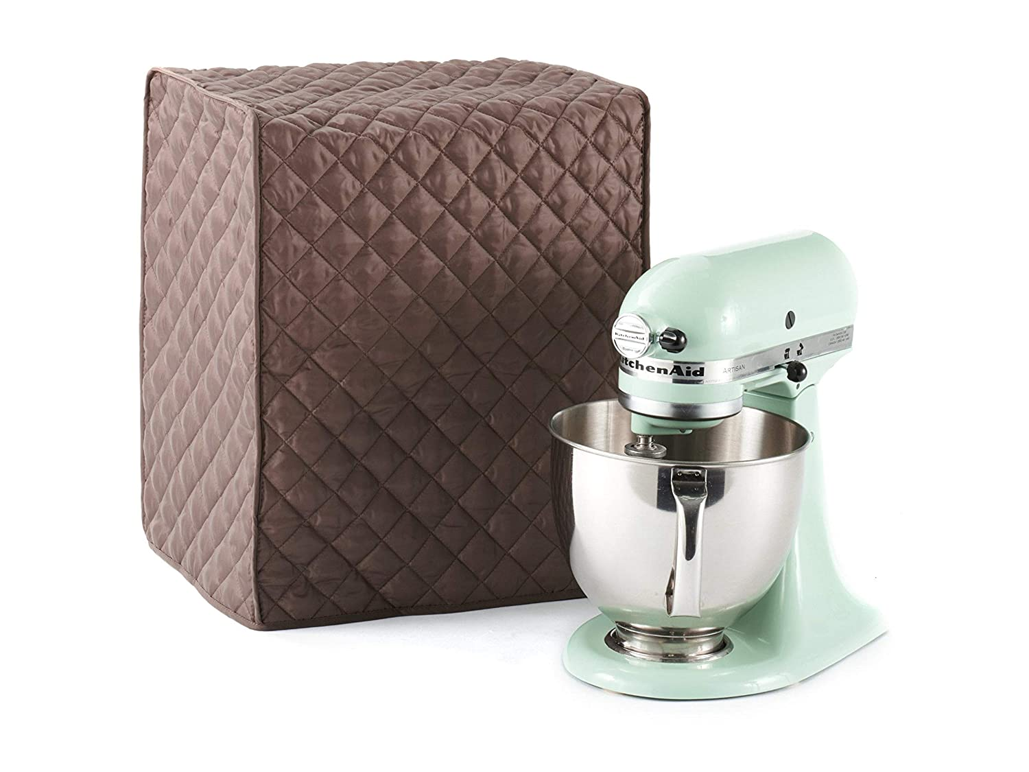 Covermates - Mixer Cover - 14W x 9D x 14H - Quilted Diamond Collection - 2 YR Warranty – Dust Protection - Washable - Bronze