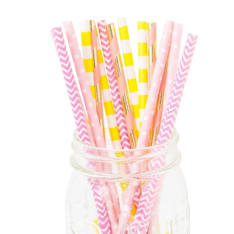 Mai Tai Biodegradable Straws 24pc+