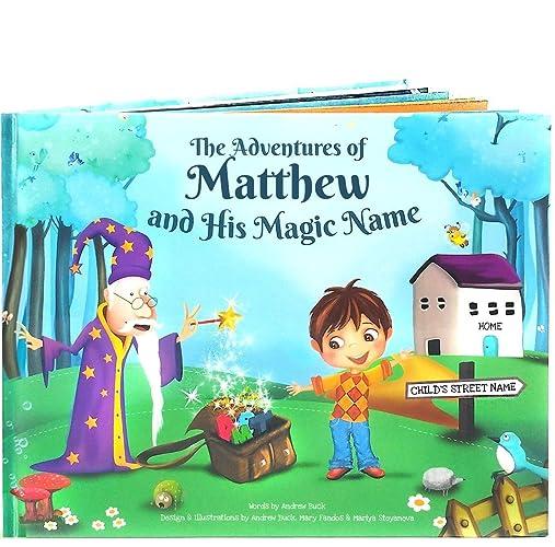 amazon com personalized story book for kids 100 unique custom