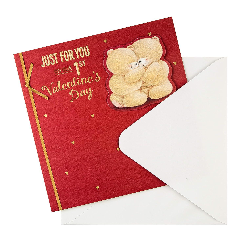 motivo: Forever Friends Hallmark effetto 3D Biglietto di San Valentino