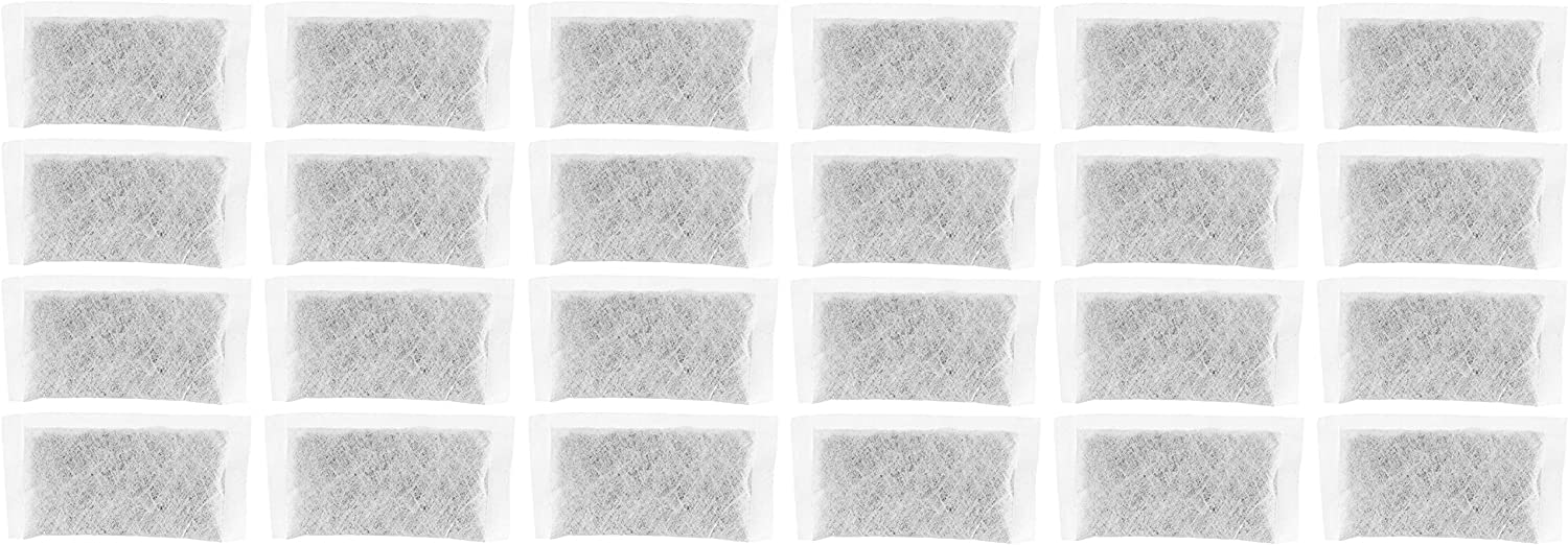 Nispira Replacement Activated Charcoal Water Filter Sachets Compatible with Megahome and Other Countertop Water Distiller 24 packs