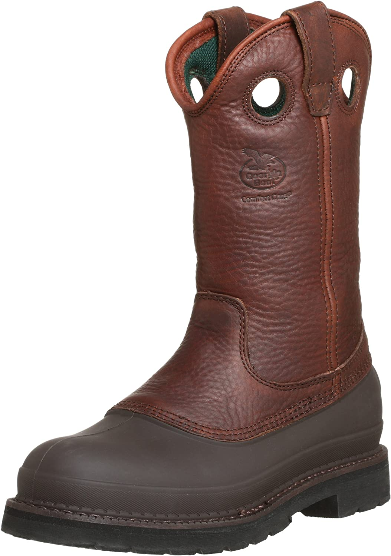 Georgia Max 73% OFF Men's Pull-On Mud Dog Steel Comfort Work Core Toe Boot Financial sales sale