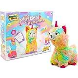 KreativeKraft Mystical Llamacorn Unicorn Llama Gifts For Girls Super Soft Rainbow Cuddly Toy Craft Kit Build Your Teddy Age 5 6 7 8 9 10 11 12 Years Old