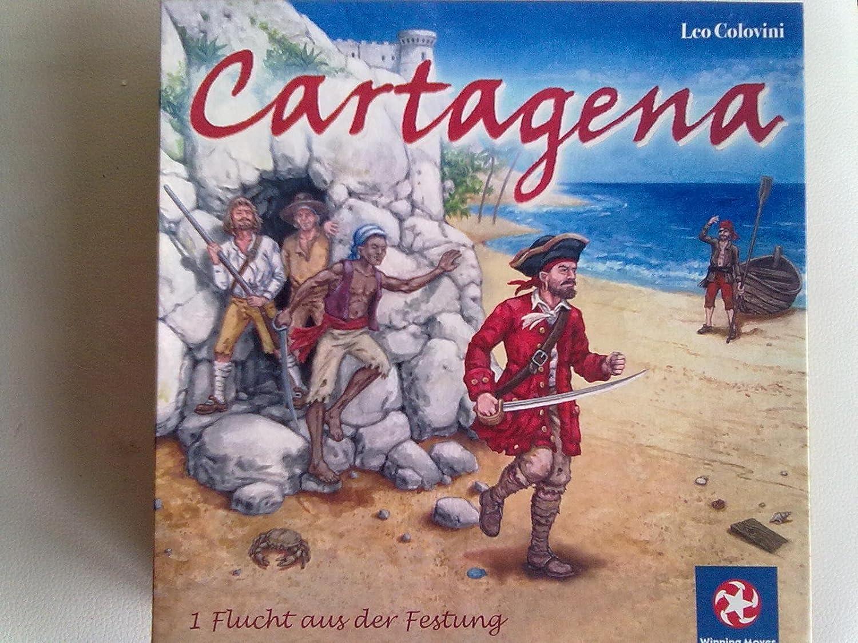 Winning Moves - Cartagena - Die Flucht aus der der aus Festung - Alte Ausgabe bebb5a