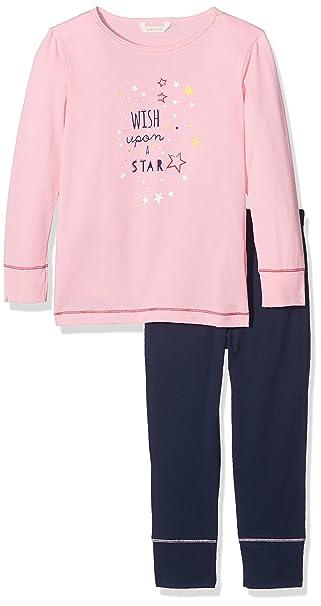 Esprit 077ef7y016, Pijama para Niñas, Rosa (Pink 670), 104