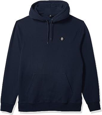 Volcom Mens Single Stone Division Pullover Hooded Fleece Sweatshirt Hooded Sweatshirt