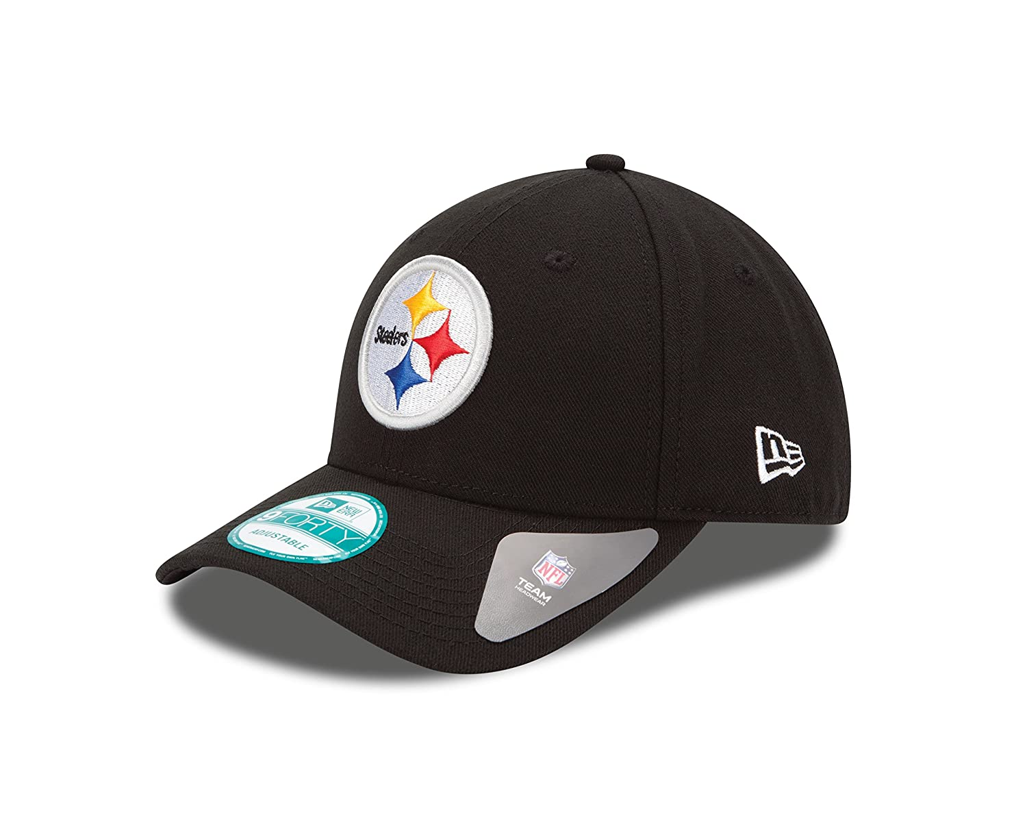 info for 56ff1 7b9d6 Amazon.com   NFL The League Pittsburgh Steelers 9Forty Adjustable Cap    Sports Fan Baseball Caps   Clothing
