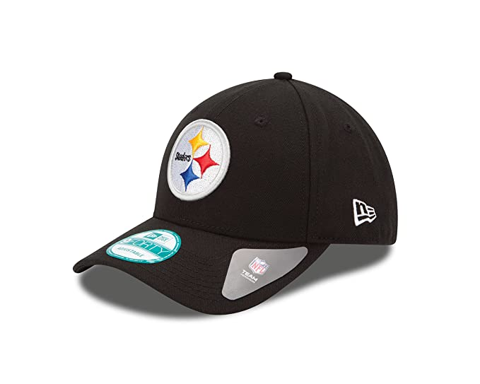 178de73f1ecb19 Amazon.com : NFL The League Pittsburgh Steelers 9Forty Adjustable Cap : Sports  Fan Baseball Caps : Clothing