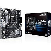 ASUS Prime B560M-K - Placa Base Micro ATX (Intel B560 LGA 1200 con VRM de 8 Fases, PCIe 4.0, Dos Ranuras M.2, 1 GB…