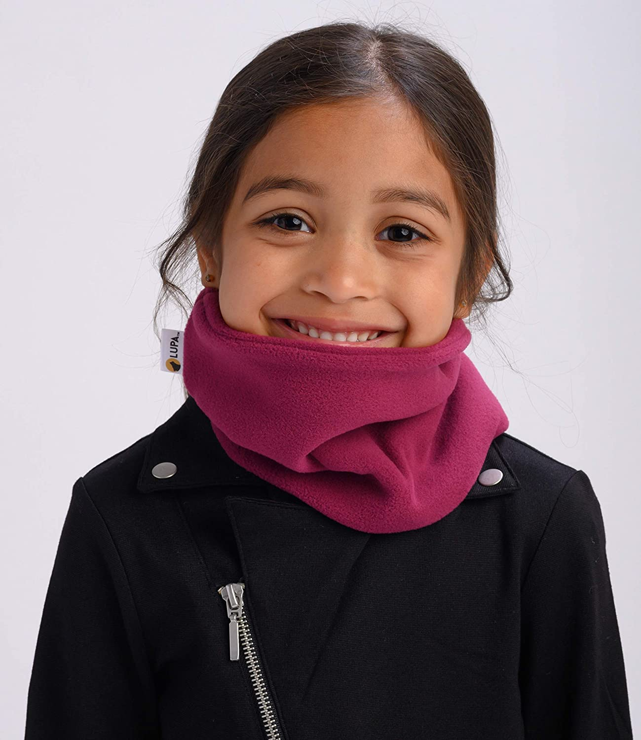 Lupa Kids Canadian Handmade Double-Layer Fleece Neck Warmer