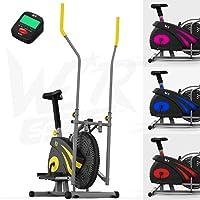 We R Sports 2-en-1 Elliptique Traverser Entraîneur & Exercice Vélo Intérieur Maison Aptitude Cardio Faire Du Sport Machine