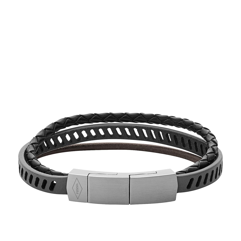 Fossil Men's Multicolour Bracelet JF02828040 plxT3