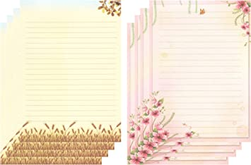 Writing stationery paper large writing paper