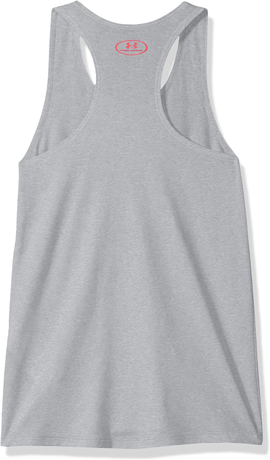 Under Armour UA Big Logo Slash Tank Canottiera Bambina