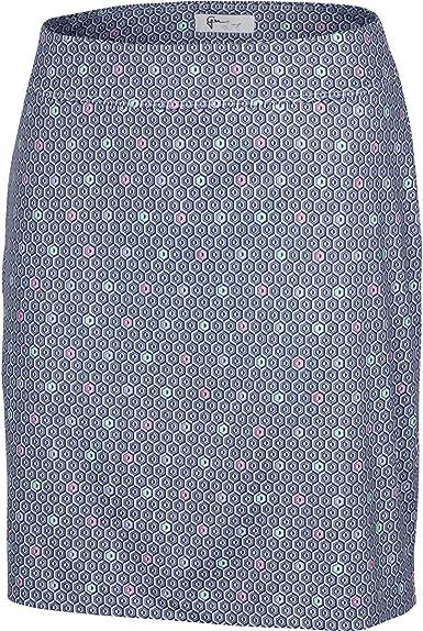 Greg Norman Womens Peony Pull-on Knit Skort