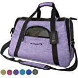 Mr. Peanut's Airline Approved Soft Sided Pet Carrier, Two-Tone Luxury Travel Tote with Fleece Bedding, New Design, Under Seat Compatability, Perfect for Cats and Small Dogs