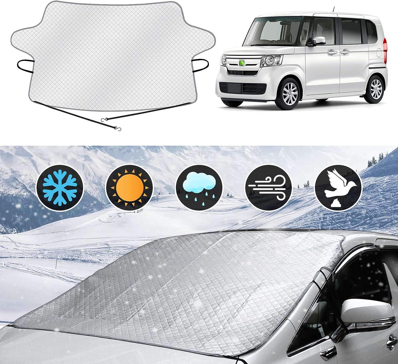 Cartist ホンダ N-BOX フロントガラスカバー 凍結防止シート