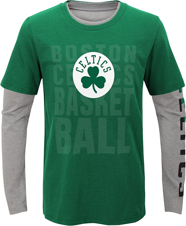 Outerstuff NBA Boys Short Sleeve /& Long Sleeve Combo Pack
