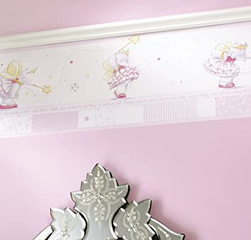Humphreys Lottie Fairy Princess Wallpaper Border